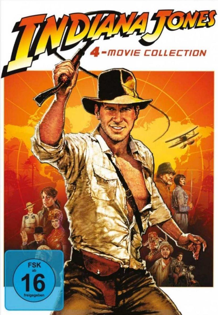 Indiana Jones 1 - 4 Movie Collection (4 Discs)