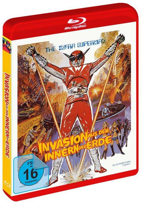Invasion aus dem Innern der Erde (BLURAY)