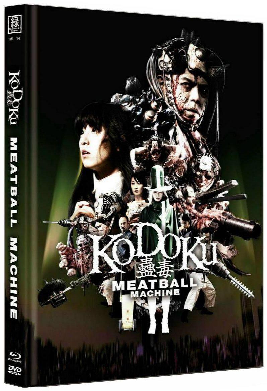 Kodoku - Meatball Machine (OmU) (Lim. Uncut Mediabook - Cover C) (DVD + BLURAY)