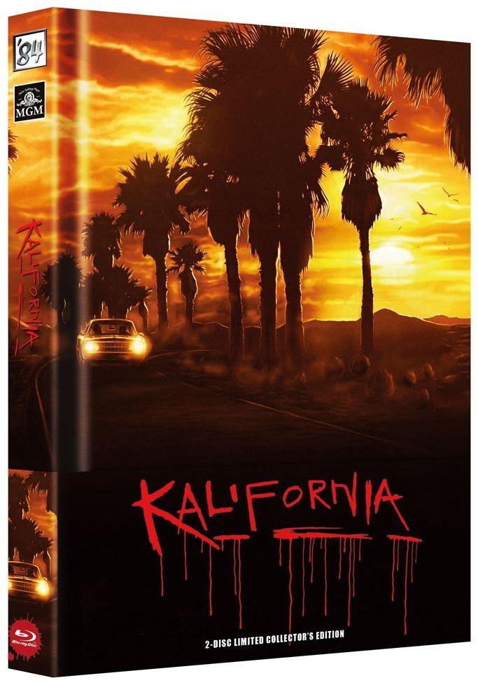 Kalifornia (Lim. Uncut wattiertes Mediabook - Cover A) (DVD + BLURAY)