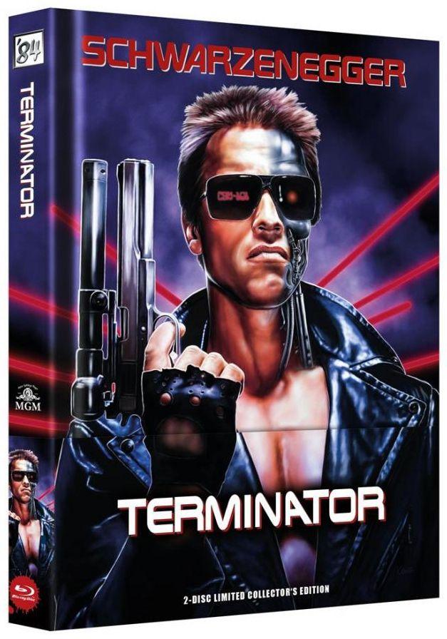 Terminator (Lim. Uncut Wattiertes Mediabook) (DVD + BLURAY)