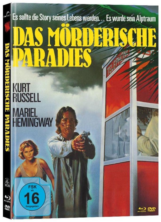 Mörderische Paradies, Das (Lim. Uncut Mediabook - Cover B) (DVD + BLURAY)