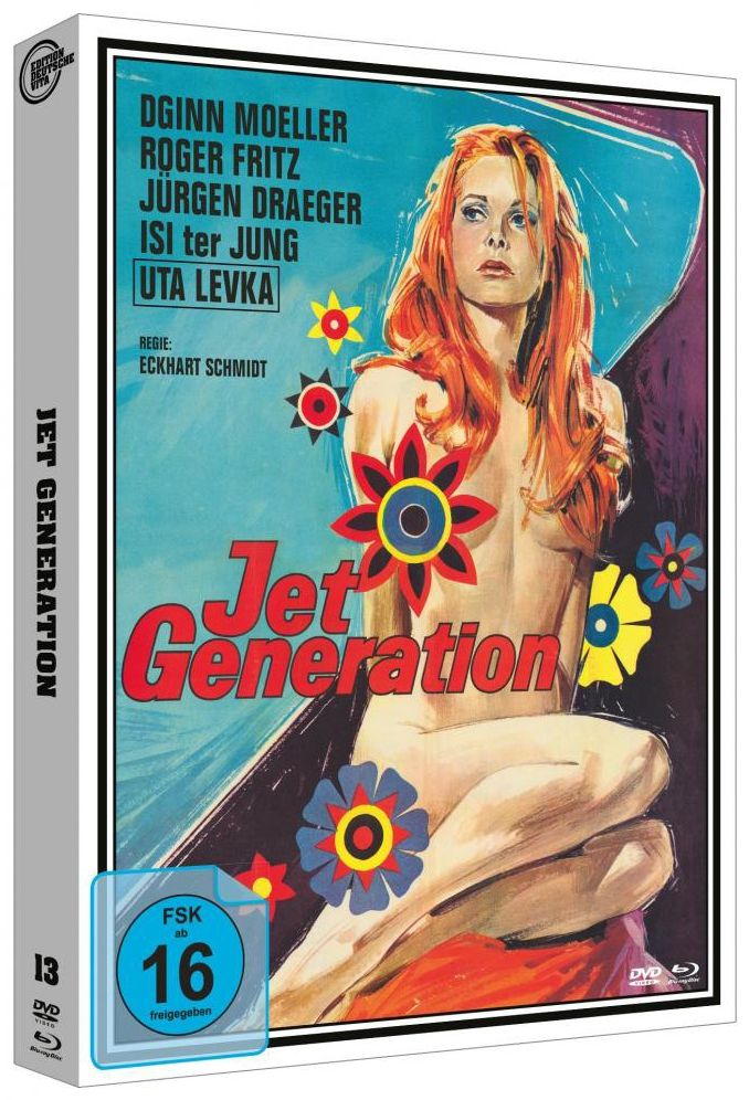 Jet Generation (Lim. Edition - Cover A) (DVD + BLURAY)