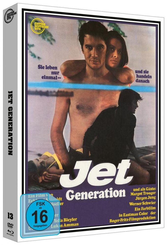 Jet Generation (Lim. Edition - Cover B) (DVD + BLURAY)