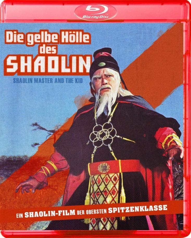 Gelbe Hölle des Shaolin, Die (BLURAY)