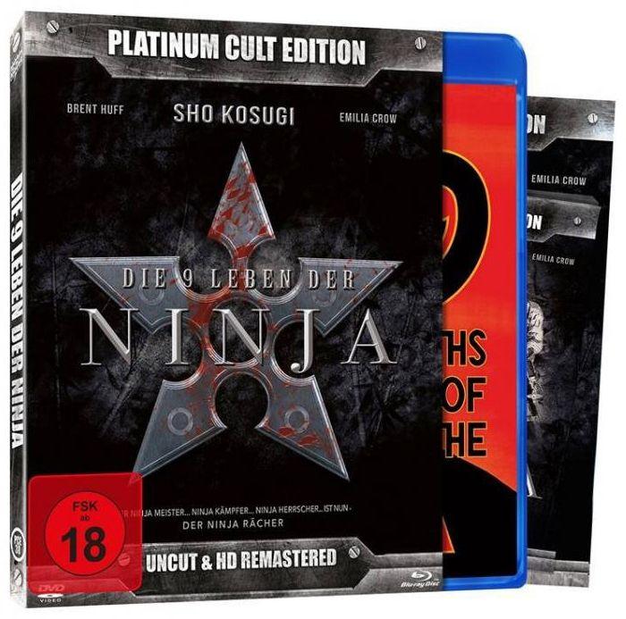 9 Leben der Ninja, Die (Platinum Cult Ed.) (DVD + BLURAY)