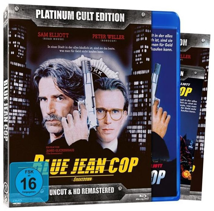 Blue Jean Cop (Platinum Cult Ed.) (DVD + BLURAY)