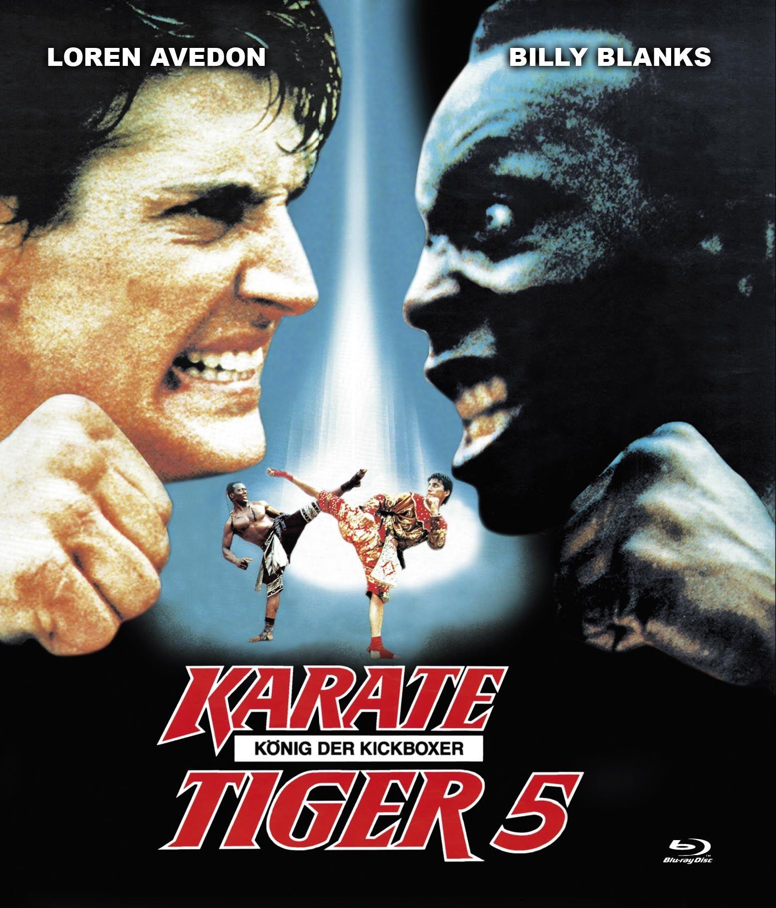 Karate Tiger 5 - König der Kickboxer (BLURAY)