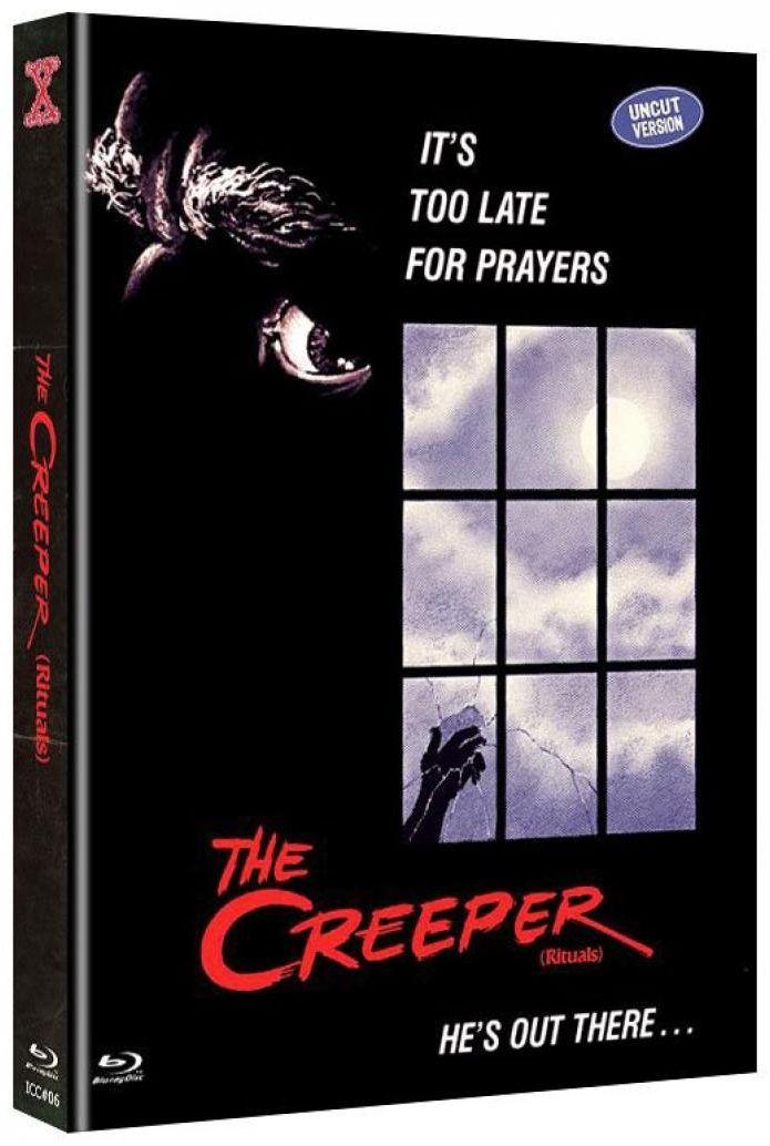 ** B-WARE ** Creeper, The (Lim. Uncut Mediabook - Cover D) (DVD + BLURAY) ** B-WARE **