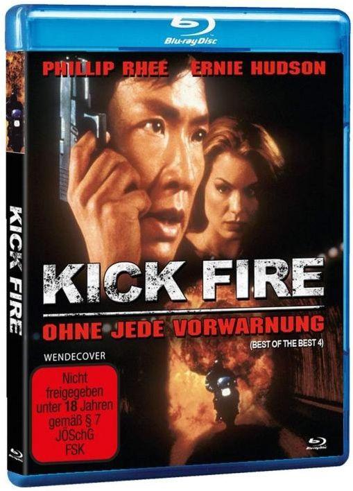 Kick Fire - Ohne jede Vorwarnung (BLURAY)