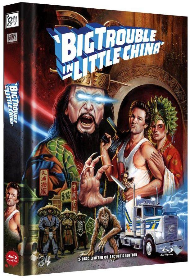 Big Trouble in Little China (Lim. Uncut Mediabook - Cover E) (DVD + BLURAY)