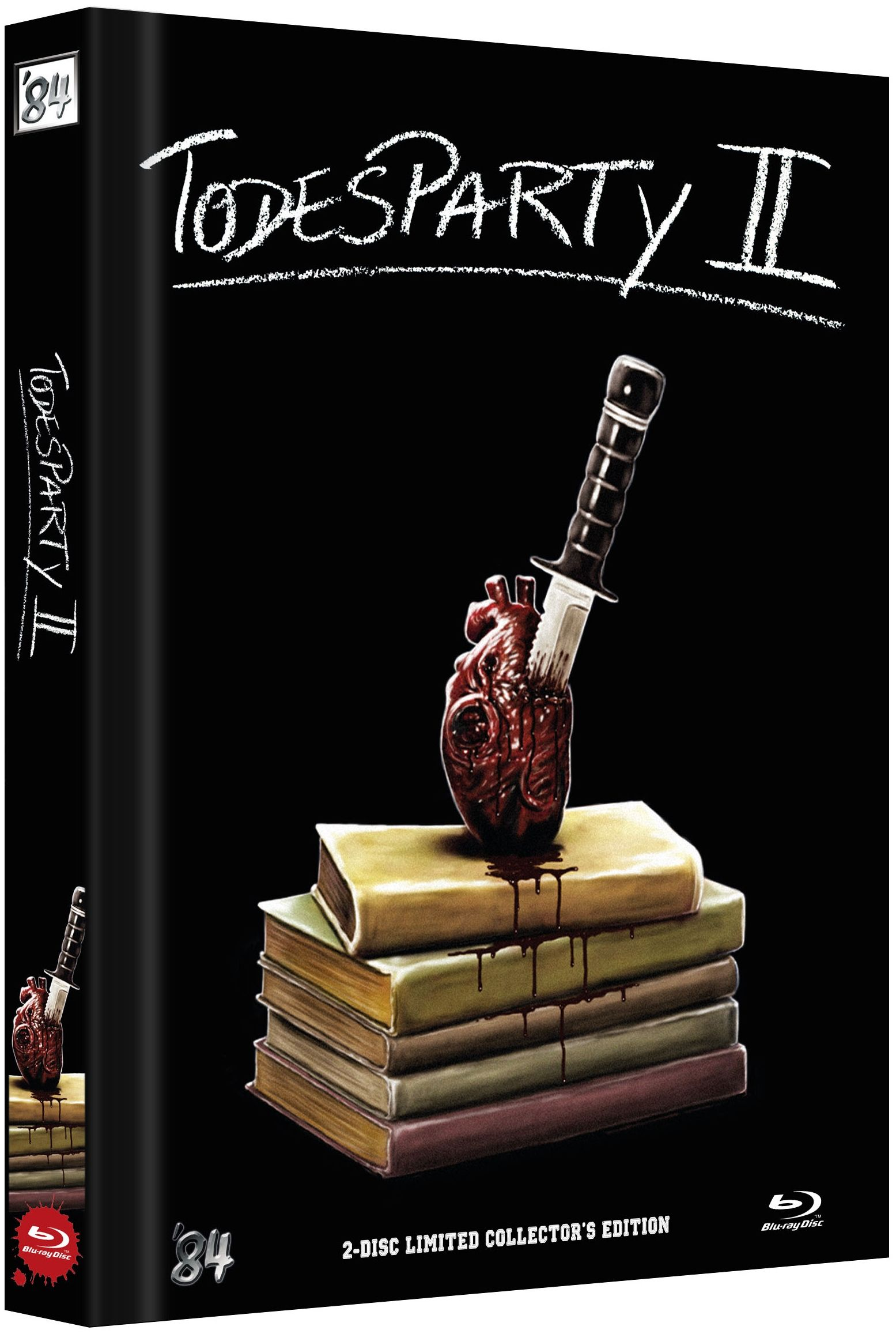 Todesparty 2 - Cutting Class (Lim. Uncut Mediabook - Cover E) (DVD + BLURAY)