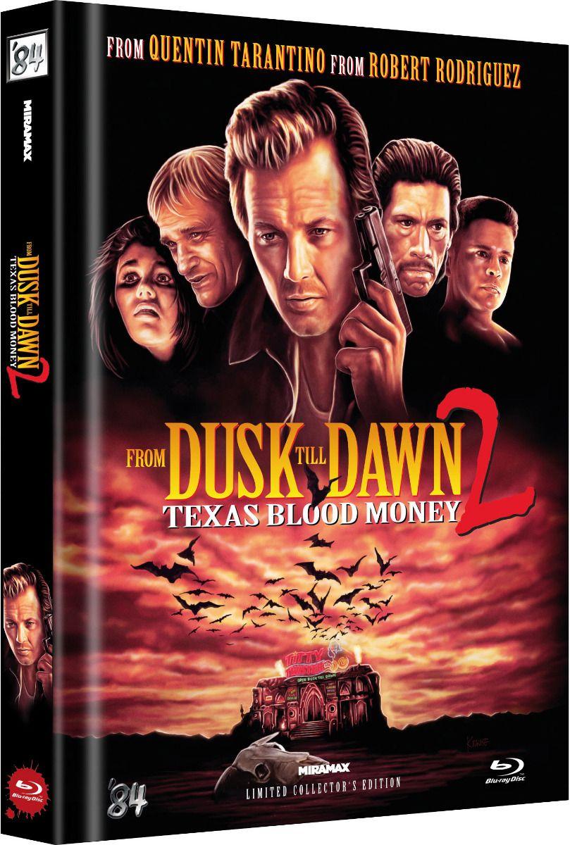 From Dusk Till Dawn 2 - Texas Blood Money (Lim. Uncut Mediabook) (BLURAY)