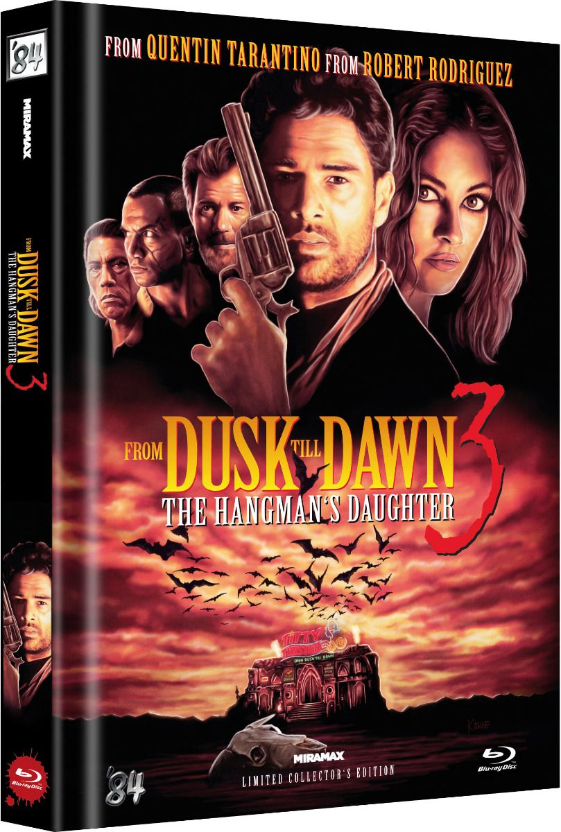 From Dusk Till Dawn 3 - The Hangman's Daughter (Lim. Uncut Mediabook) (BLURAY)