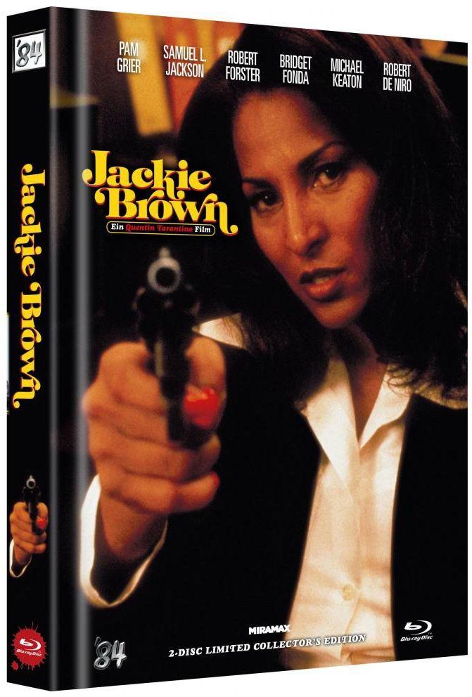 Jackie Brown (Lim. Uncut Mediabook - Cover B) (DVD + BLURAY)