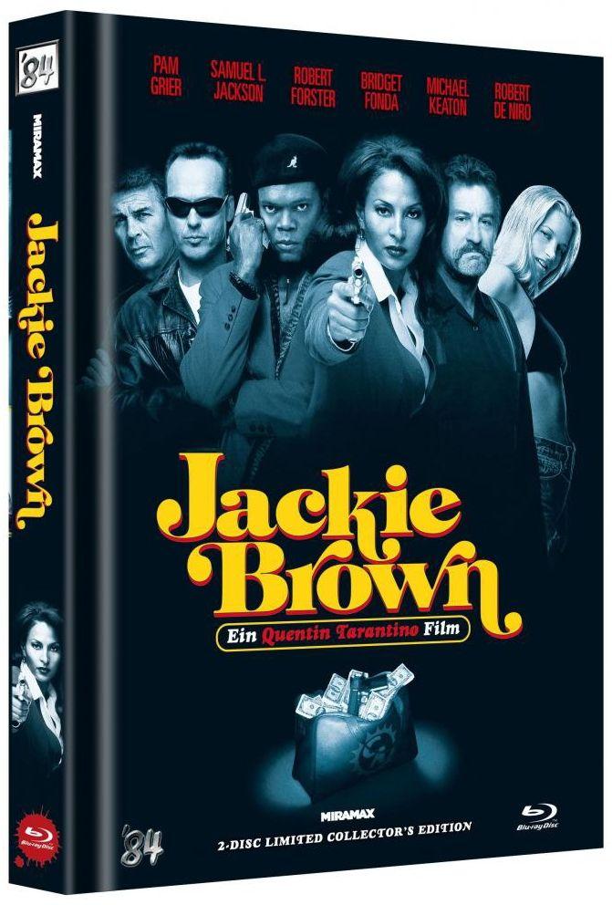 Jackie Brown (Lim. Uncut Mediabook - Cover C) (DVD + BLURAY)