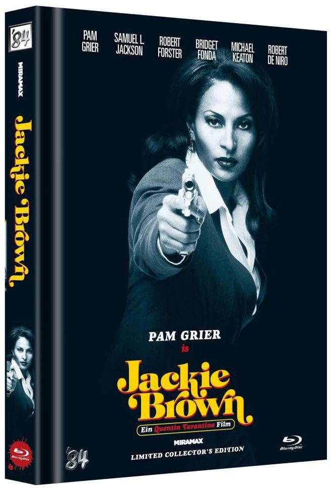 Jackie Brown (Lim. Uncut Mediabook - Cover D) (BLURAY)