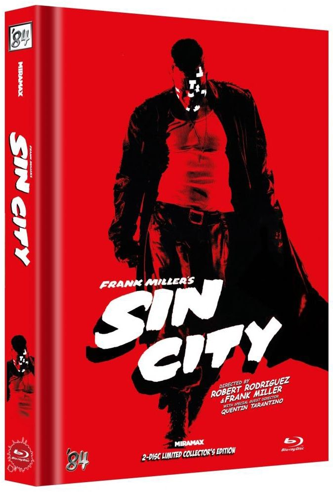 Sin City (Lim. Uncut Mediabook - Cover B) (2 Discs) (BLURAY)