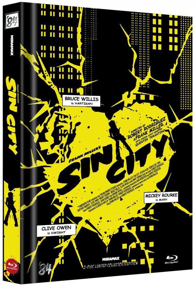 Sin City (Lim. Uncut Mediabook - Cover D) (2 Discs) (BLURAY)