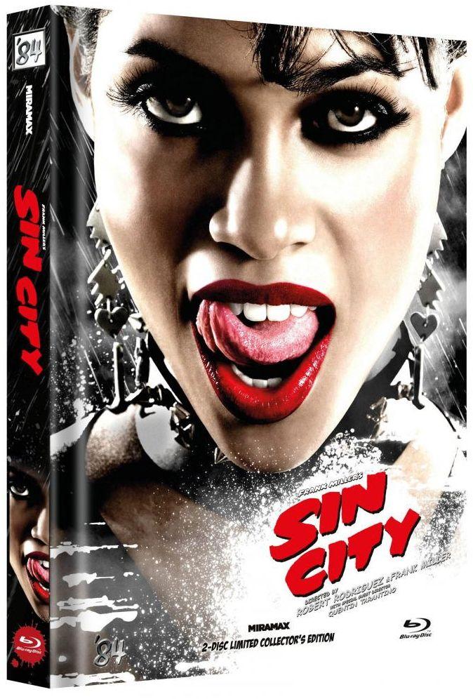 Sin City (Lim. Uncut Mediabook - Cover E) (2 Discs) (BLURAY)