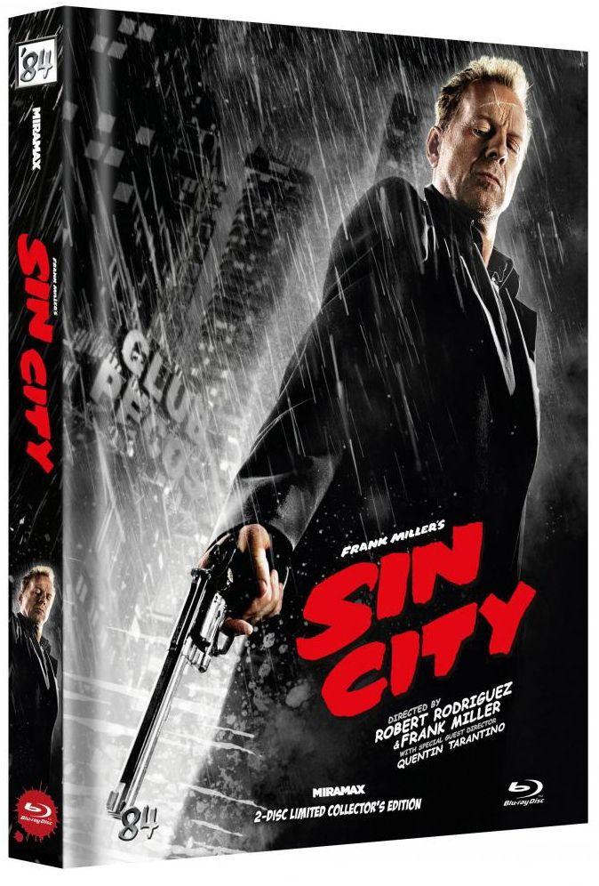 Sin City (Lim. Uncut Mediabook - Cover F) (2 Discs) (BLURAY)