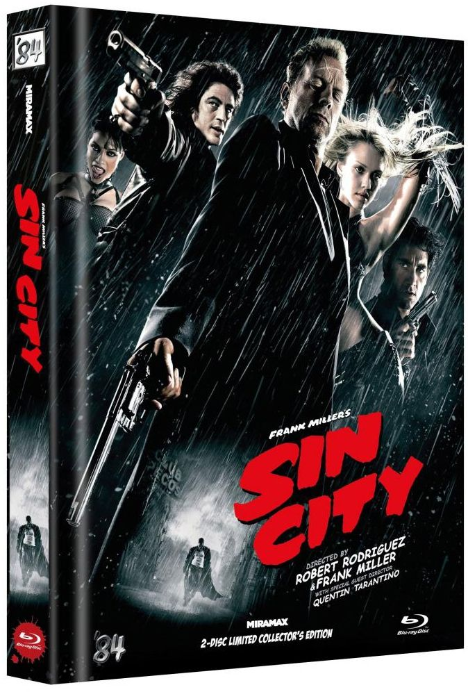 Sin City (Lim. Uncut Mediabook - Cover G) (2 Discs) (BLURAY)