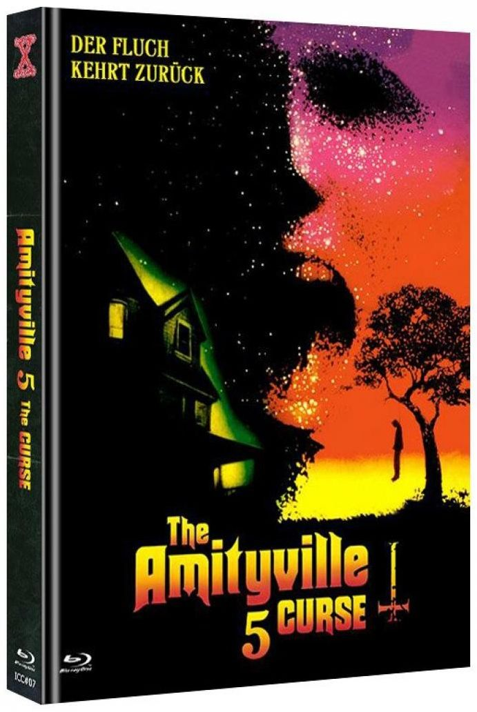 Amityville 5 - The Curse (Lim. Uncut Mediabook - Cover A) (DVD + BLURAY)