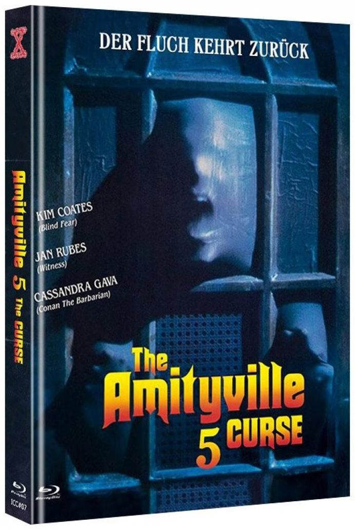 Amityville 5 - The Curse (Lim. Uncut Mediabook - Cover B) (DVD + BLURAY)