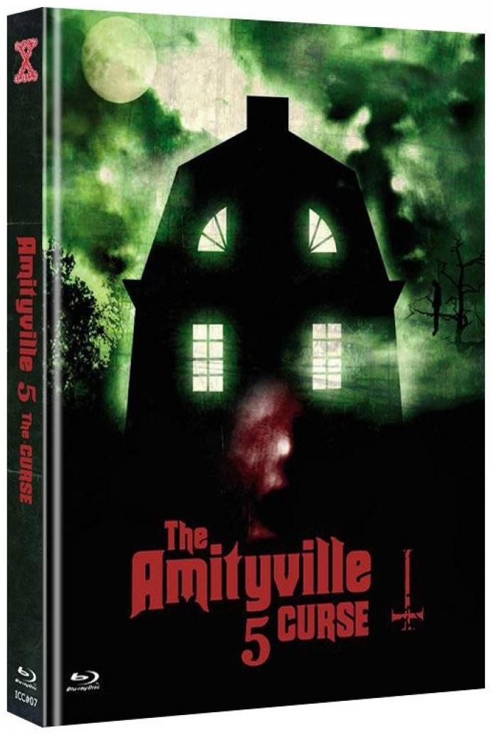Amityville 5 - The Curse (Lim. Uncut Mediabook - Cover C) (DVD + BLURAY)