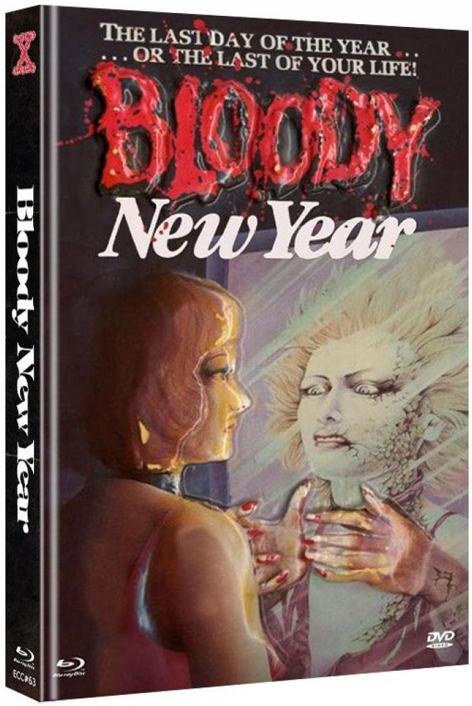Bloody New Year (Lim. Uncut Mediabook - Cover C) (DVD + BLURAY)