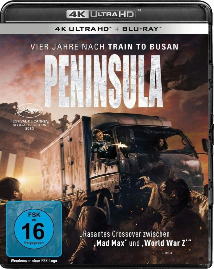 Peninsula (2 Discs) (UHD BLURAY + BLURAY)