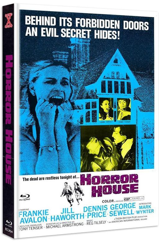 Gänsehaut - The Haunted House of Horror (Lim. Uncut Mediabook - Cover A) (DVD + BLURAY)