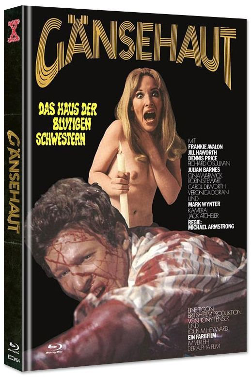 Gänsehaut - The Haunted House of Horror (Lim. Uncut Mediabook - Cover B) (DVD + BLURAY)
