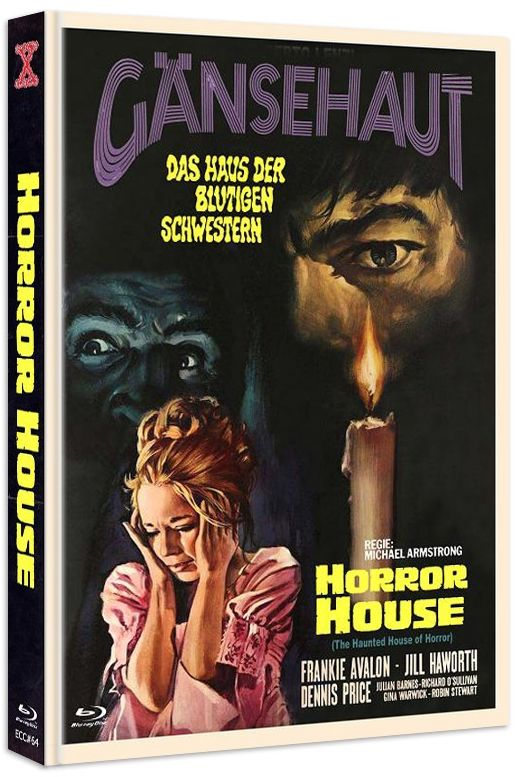 Gänsehaut - The Haunted House of Horror (Lim. Uncut Mediabook - Cover C) (DVD + BLURAY)