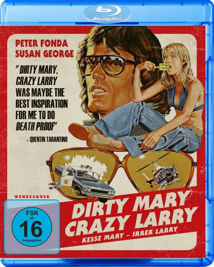 Dirty Mary Crazy Larry (BLURAY)