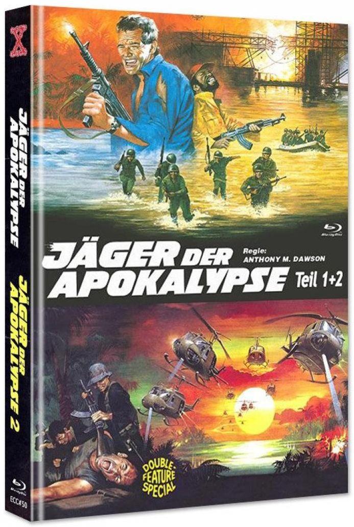 Jäger der Apokalypse 1+2 (Lim. Uncut Double Feature Mediabook) (DVD + BLURAY)