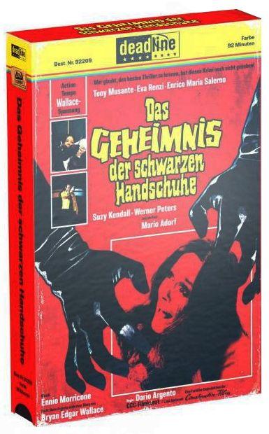 Geheimnis der schwarzen Handschuhe, Das (Lim. VHS-Design Edition) (DVD + BLURAY)