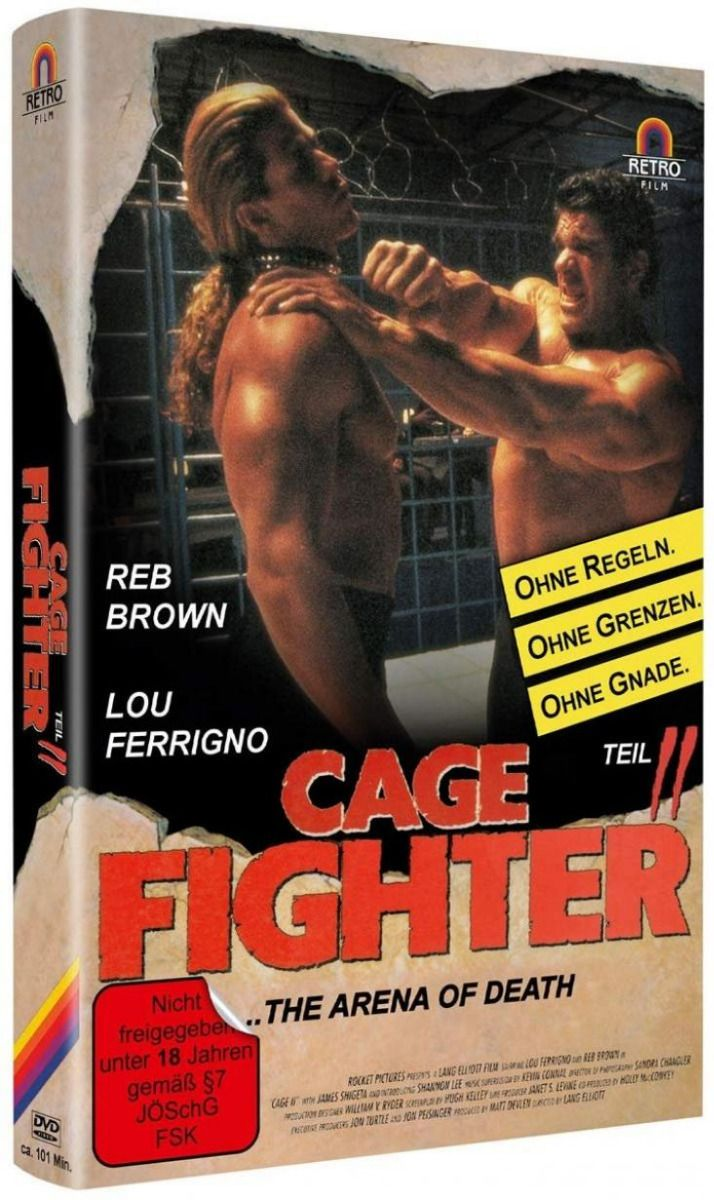 Cage Fighter 2 - Arena of Death (Lim. gr. Hartbox)