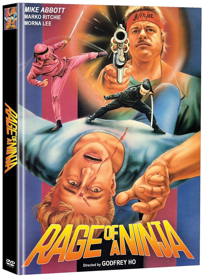 Rage of a Ninja (OmU) (Lim. Uncut Mediabook) (2 Discs)