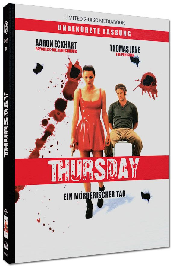 Thursday - Ein mörderischer Tag (Lim. Uncut Mediabook) (DVD + BLURAY)