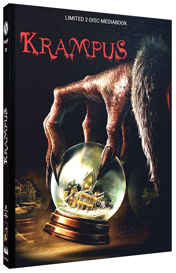 Krampus (Lim. Uncut Mediabook - Cover A) (DVD + BLURAY)