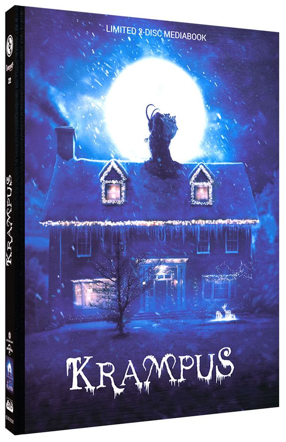 Krampus (Lim. Uncut Mediabook - Cover B) (DVD + BLURAY)