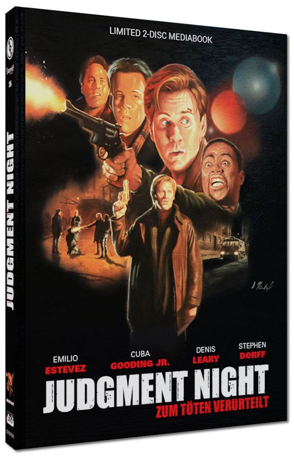 Judgment Night - Zum Töten verurteilt (Lim. Uncut Mediabook - Cover A) (DVD + BLURAY)