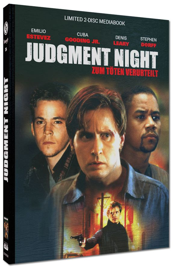 Judgment Night - Zum Töten verurteilt (Lim. Uncut Mediabook - Cover B) (DVD + BLURAY)