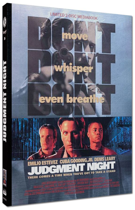 Judgment Night - Zum Töten verurteilt (Lim. Uncut Mediabook - Cover C) (DVD + BLURAY)