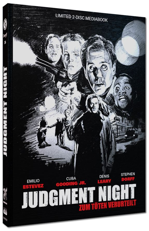 Judgment Night - Zum Töten verurteilt (Lim. Uncut Mediabook - Cover D) (DVD + BLURAY)