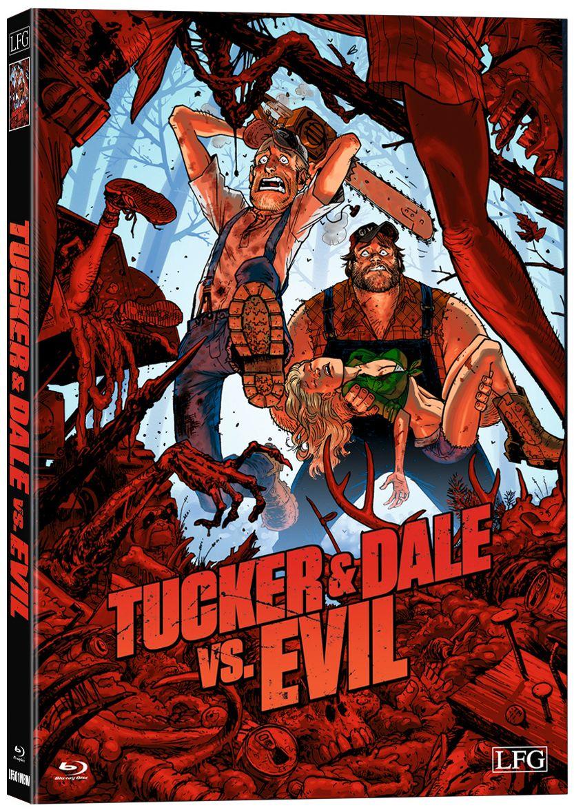 Tucker & Dale vs Evil (Lim. Uncut wattiertes Mediabook) (BLURAY)