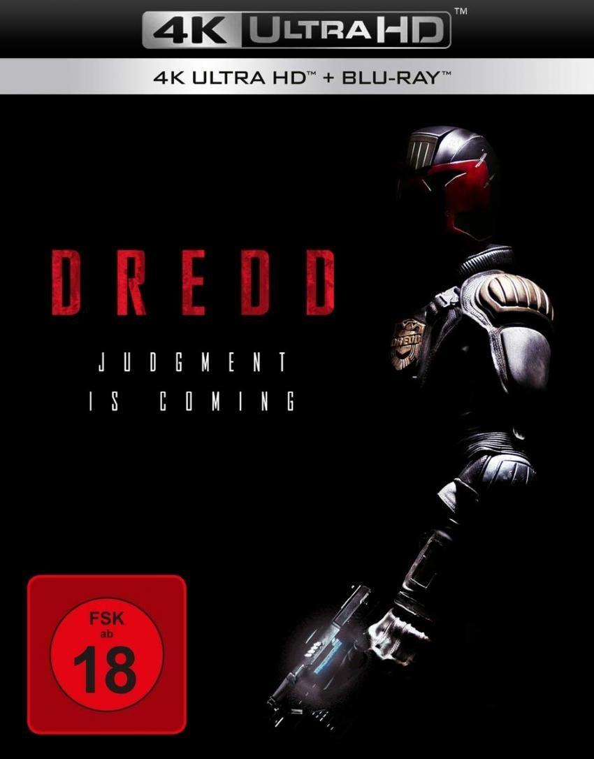 Dredd (2012) (2 Discs) (UHD BLURAY + BLURAY)