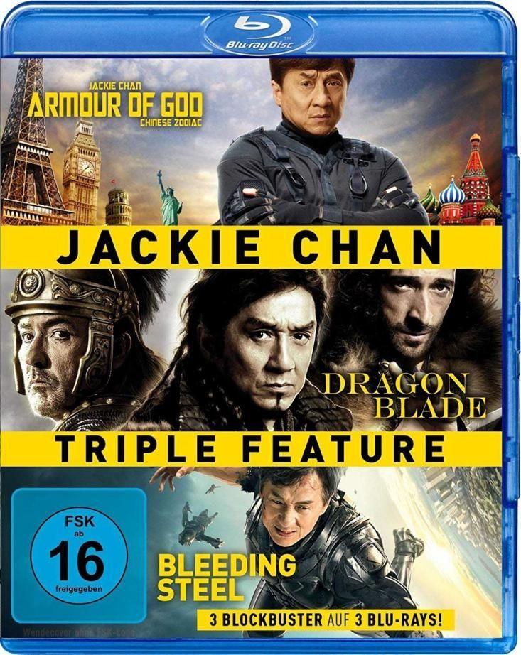 Armour of God / Dragon Blade / Bleeding Steel (Jackie Chan Triple Feature) (3 Discs) (BLURAY)