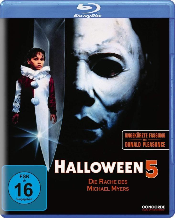 Halloween 5 - Die Rache des Michael Myers (Uncut) (BLURAY)